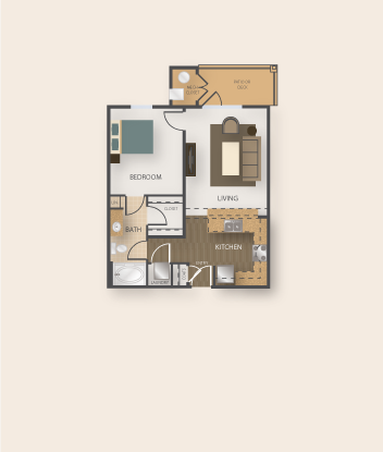 One bedroom plans