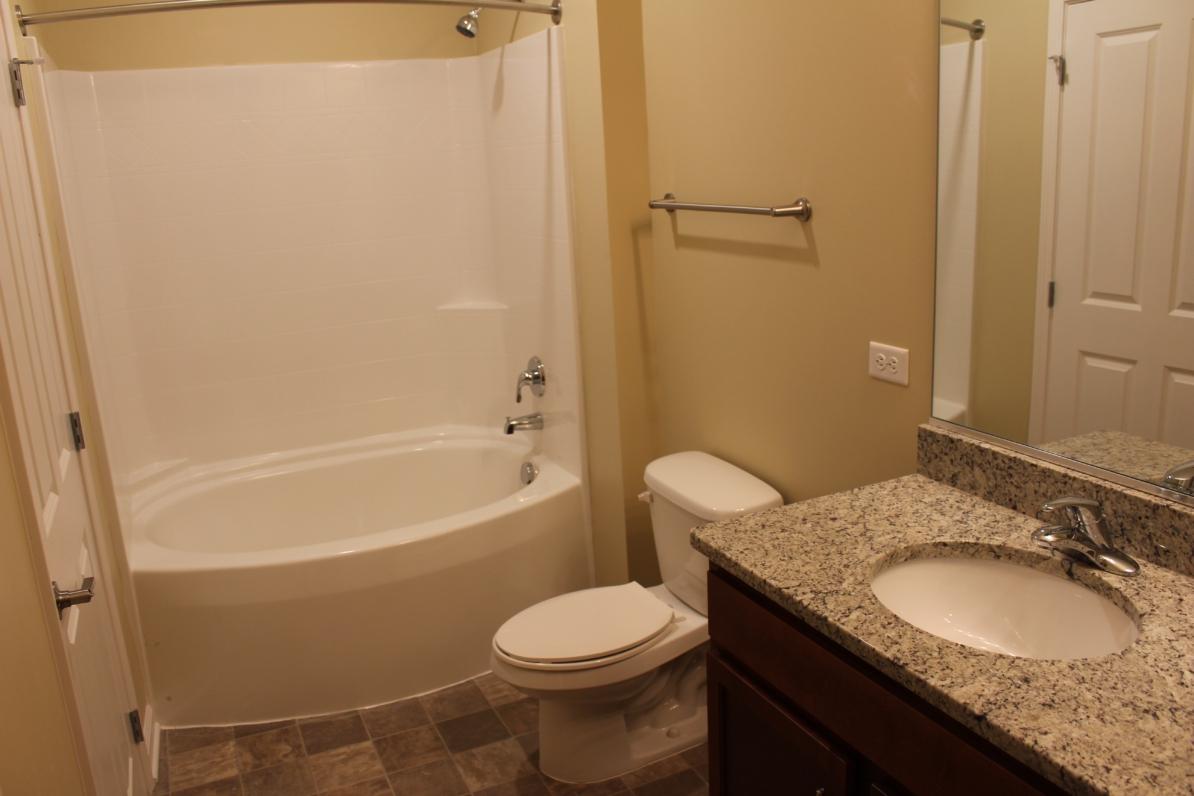 Two Bedroom & Two Bathroom Floor Plans